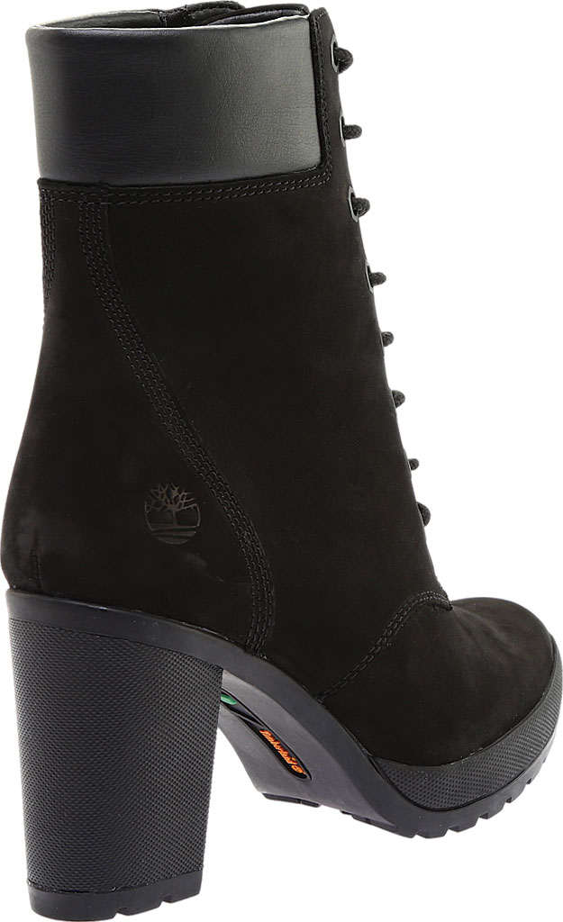 """Women's Timberland Camdale 6"""" Ankle Bootie, Black Nubuck, large, image 4"""