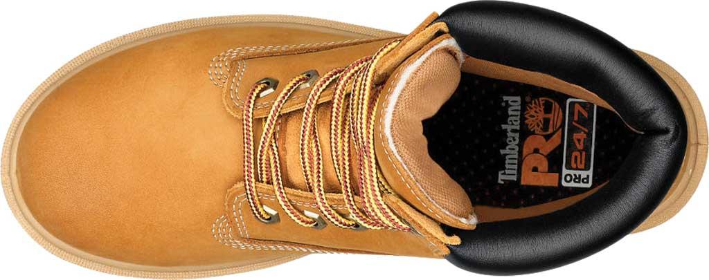 """Women's Timberland PRO 6"""" Direct Attach Soft Toe Waterproof Work Boot, Wheat Nubuck, large, image 4"""