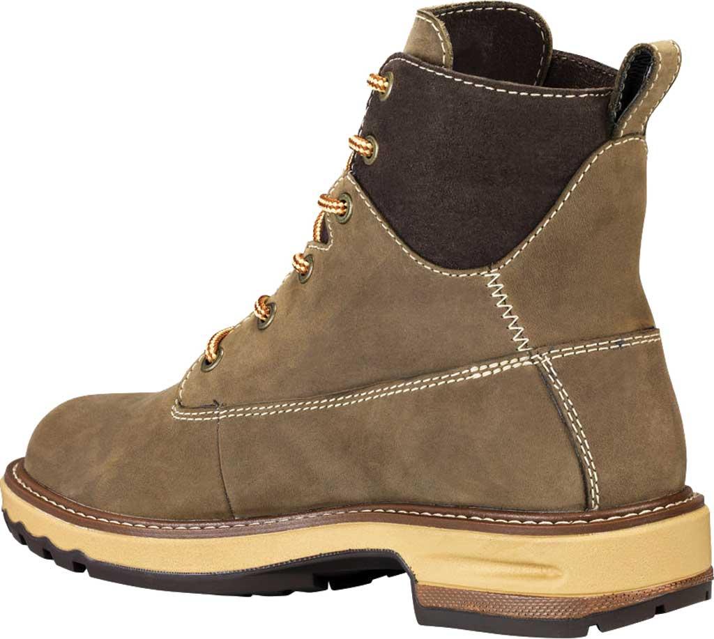 "Women's Timberland PRO 6"" Hightower Soft Toe Waterproof Work Boot, Turkish Coffee Full Grain Leather, large, image 3"
