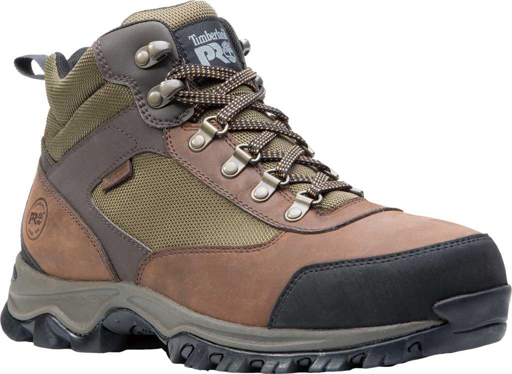 Men's Timberland PRO Keele Ridge Work Steel Safety Toe Boot, Brown Nubuck/Mesh, large, image 1