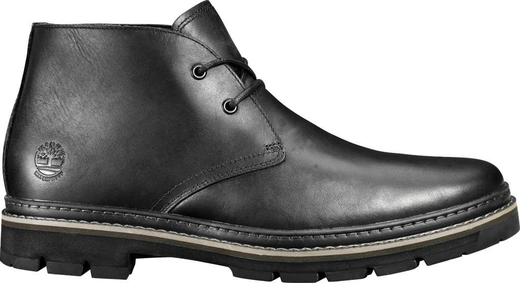 Men's Timberland Port Union Waterproof Chukka Boot, Black Full Grain Leather, large, image 2