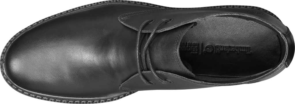 Men's Timberland Port Union Waterproof Chukka Boot, Black Full Grain Leather, large, image 4