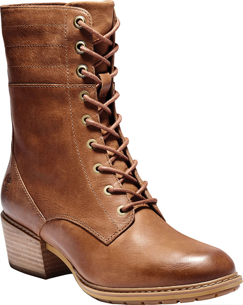 Women's Timberland Sutherlin Bay Side Zip Lace Up Boot, , large, image 1