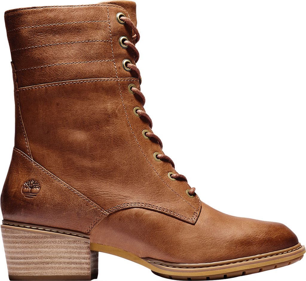 Women's Timberland Sutherlin Bay Side Zip Lace Up Boot, , large, image 2