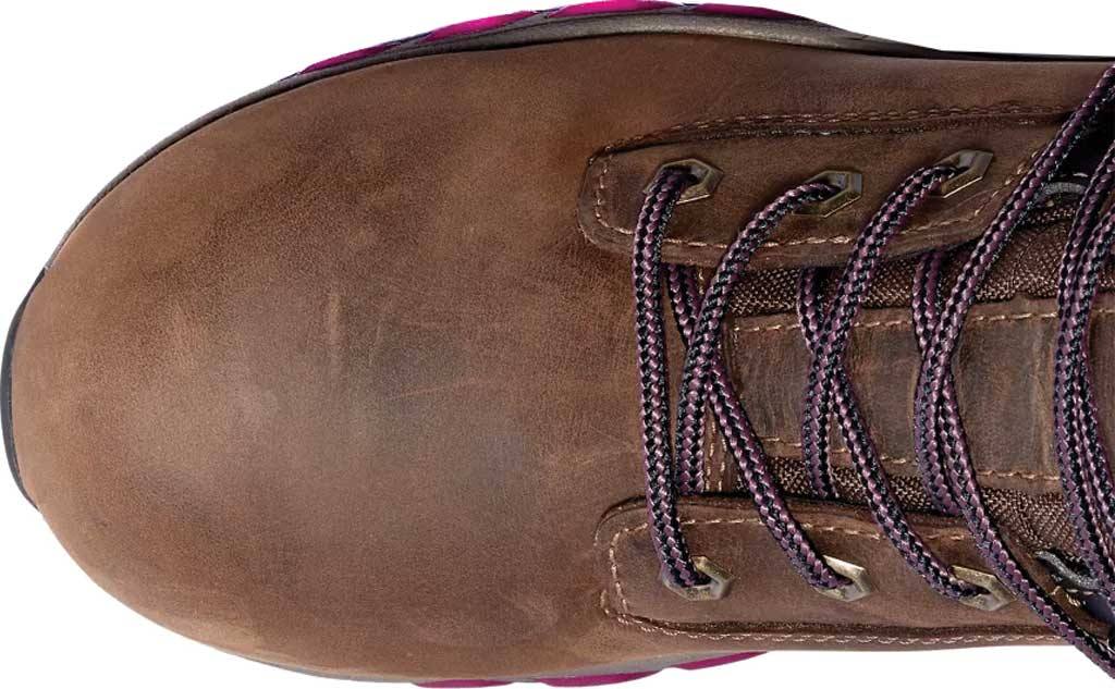 """Women's Timberland PRO Hypercharge 6"""" Composite Safety Toe Boot, Brown/Maroon Full Grain Leather, large, image 3"""