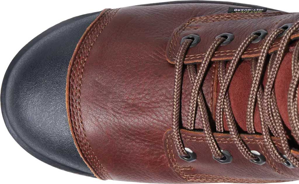 """Men's Timberland PRO Helix HD 8"""" Composite Safety Toe Waterproof Boot, Tempest Rancher Brown Full Grain Leather, large, image 3"""