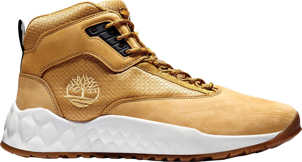 Men's Timberland Solar Wave Mid Hiking Boot, Wheat Leather, large, image 2