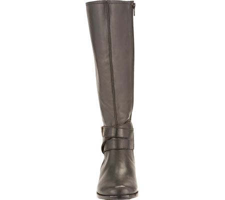 Women's Rose Petals by Walking Cradles Tristan Tall Extra Wide Calf Boot, Black Nappa, large, image 4