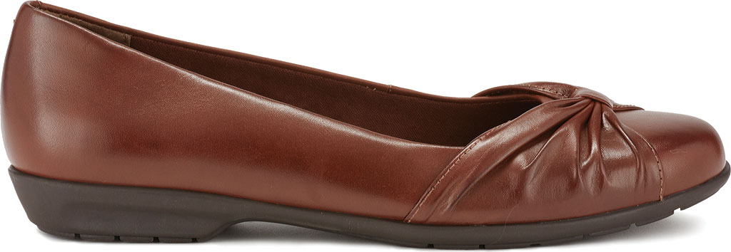 Women's Walking Cradles Fall Ballet Flat, Tobacco Leather, large, image 2