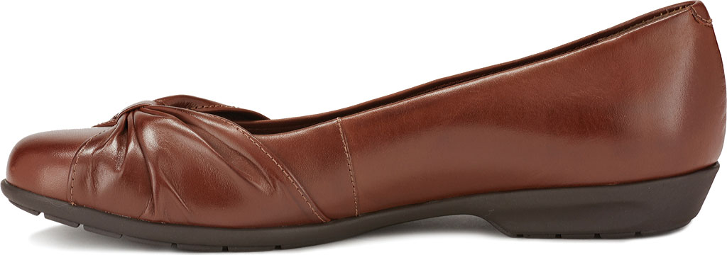 Women's Walking Cradles Fall Ballet Flat, Tobacco Leather, large, image 3