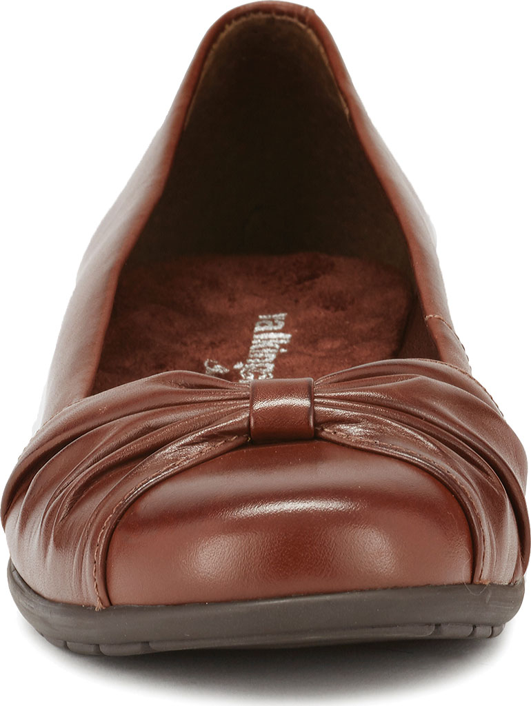 Women's Walking Cradles Fall Ballet Flat, Tobacco Leather, large, image 4
