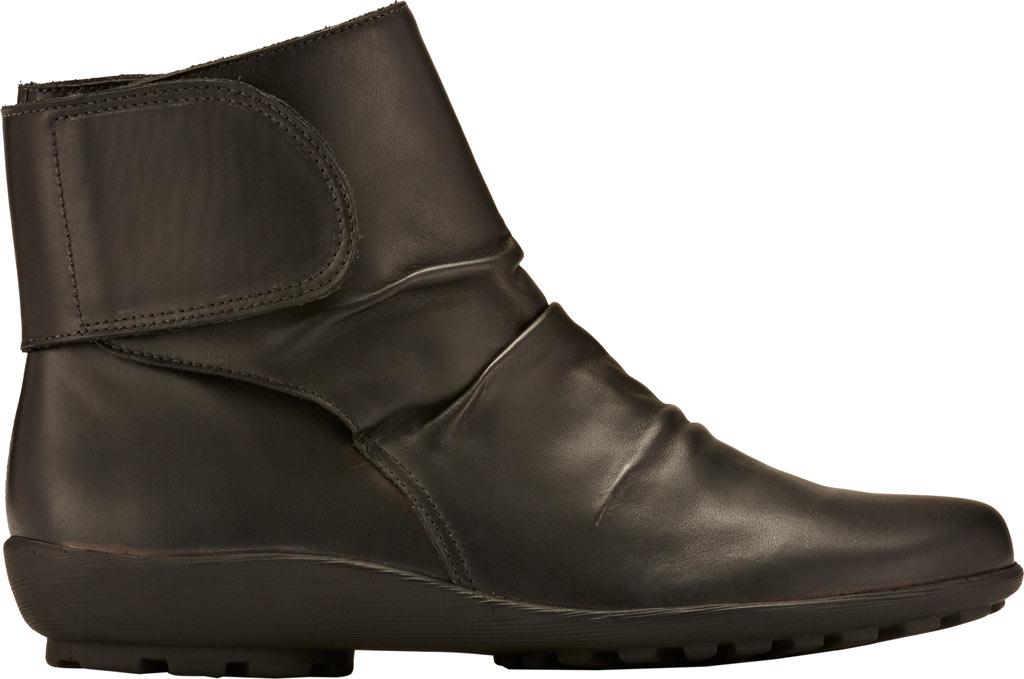 Women's Walking Cradles Harlow Bootie, Black Leather, large, image 2