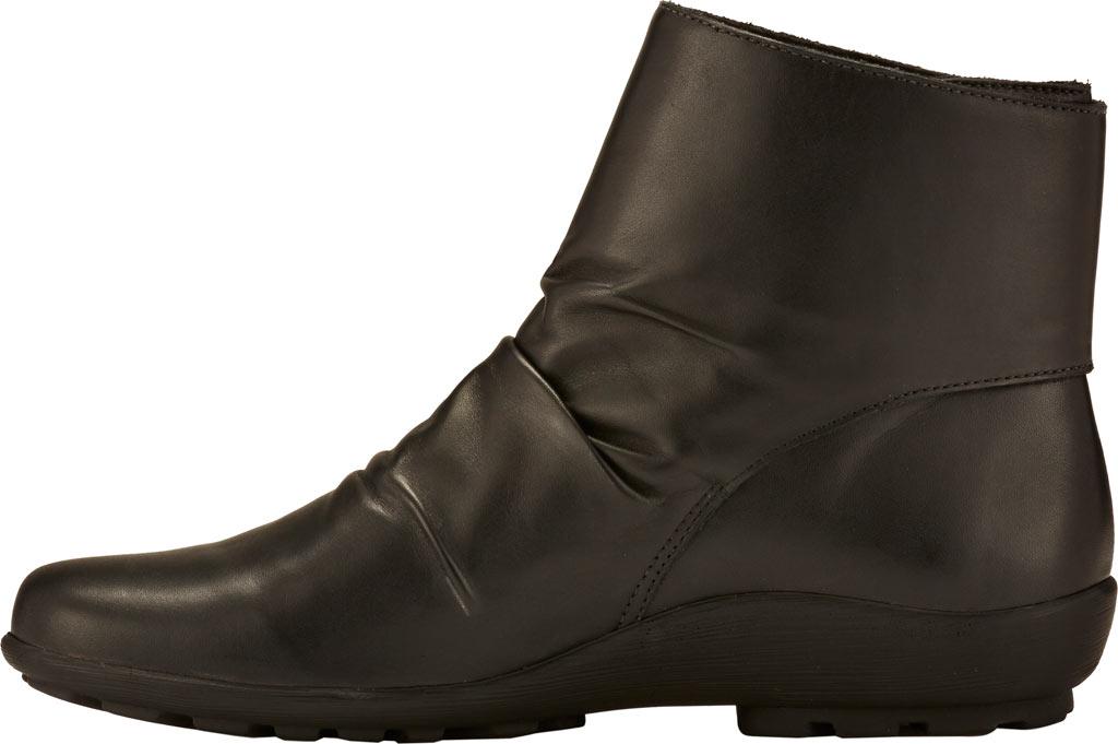 Women's Walking Cradles Harlow Bootie, Black Leather, large, image 3
