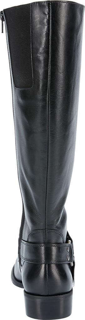 Women's Walking Cradles Kristen Extra Wide Shaft Harness Boot, Black Leather, large, image 4