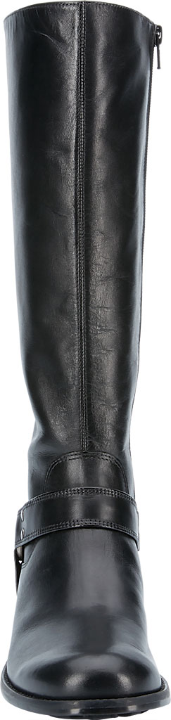Women's Walking Cradles Kristen Wide Shaft Harness Boot, Black Leather, large, image 4