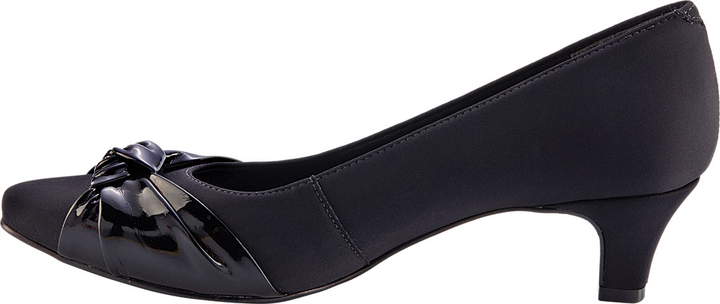 Women's Walking Cradles Isla Pump, Black Microsuede, large, image 3
