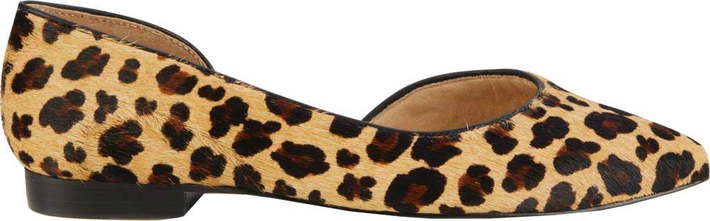 Women's Walking Cradles Raya Pointed Toe Flat, Leopard Calf Hair/Leather, large, image 2