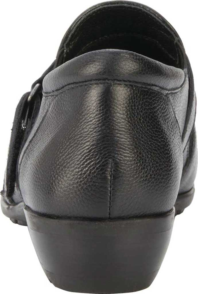 Women's Walking Cradles Eliot Slip On, Black Tumbled Leather, large, image 4