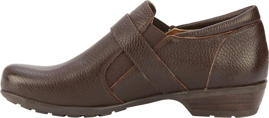 Women's Walking Cradles Eliot Slip On, Brown Tumbled Leather, large, image 3