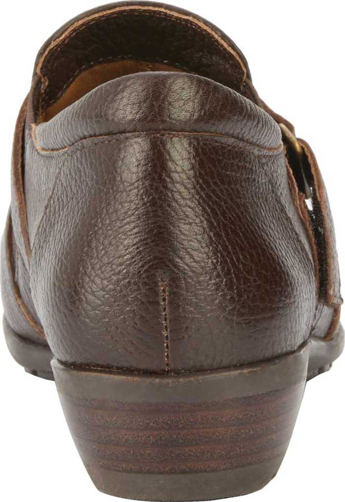 Women's Walking Cradles Eliot Slip On, Brown Tumbled Leather, large, image 4