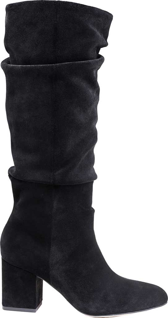 Women's Splendid Phoenix Knee High Slouch Boot, Black Suede, large, image 2