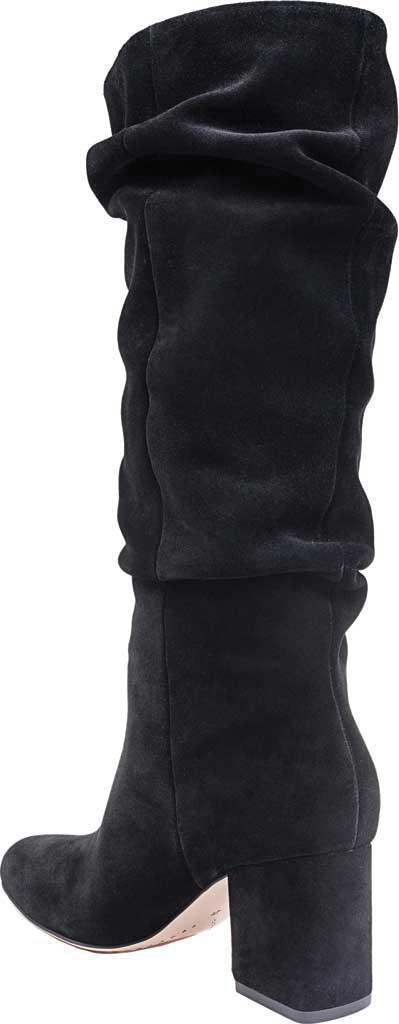 Women's Splendid Phoenix Knee High Slouch Boot, Black Suede, large, image 3