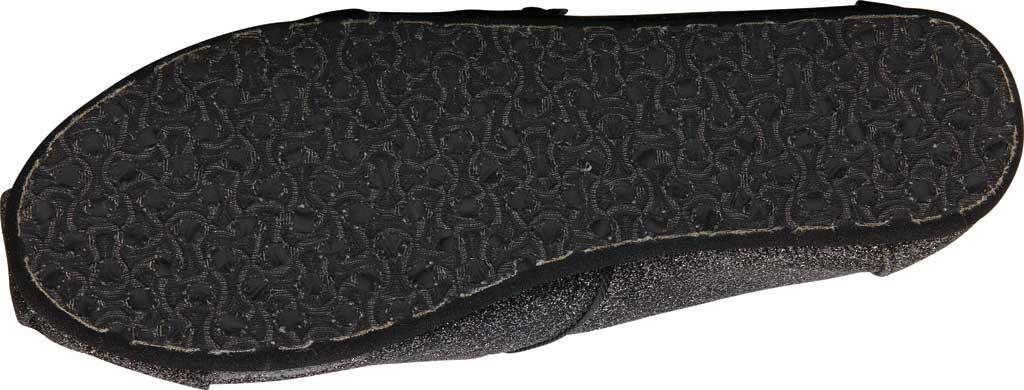 Children's TOMS Seasonal Classic Alpargata, Black Iridescent Glimmer, large, image 3