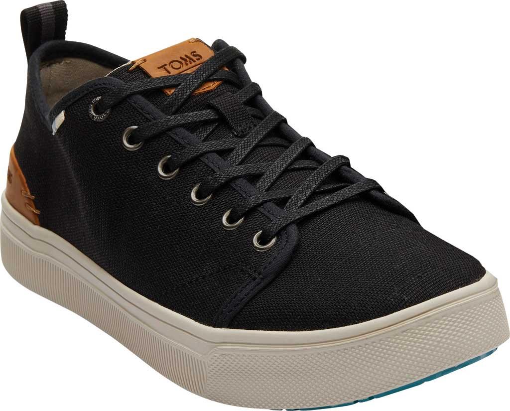 Men's TOMS TRVL LITE Sneaker, Black Heritage Canvas, large, image 1