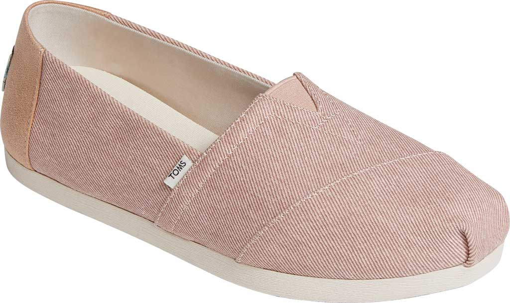 Women's TOMS Alpargata Repreve Knit Slip On Shoe, Bloom Eco Dyed Twill, large, image 1