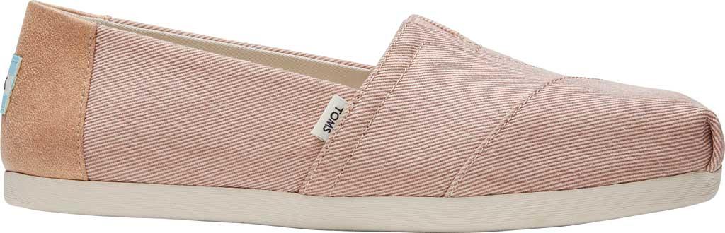 Women's TOMS Alpargata Repreve Knit Slip On Shoe, Bloom Eco Dyed Twill, large, image 2