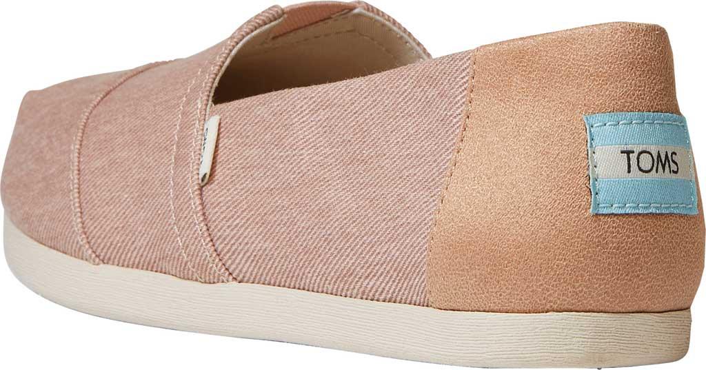 Women's TOMS Alpargata Repreve Knit Slip On Shoe, Bloom Eco Dyed Twill, large, image 3