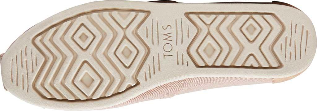 Women's TOMS Alpargata Repreve Knit Slip On Shoe, Bloom Eco Dyed Twill, large, image 4