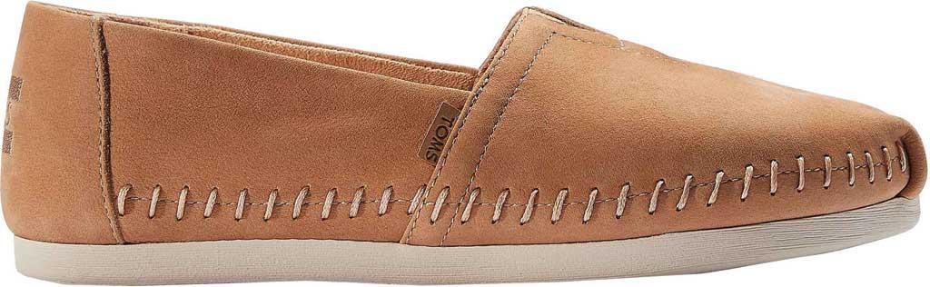 Women's TOMS Alpargata 3.0 Leather Slip On Shoe, Honey Leather, large, image 2