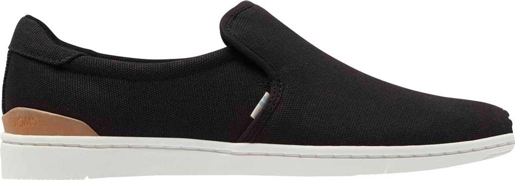 Men's TOMS TRVL LITE 2.0 Slip On Sneaker, Black Canvas, large, image 2
