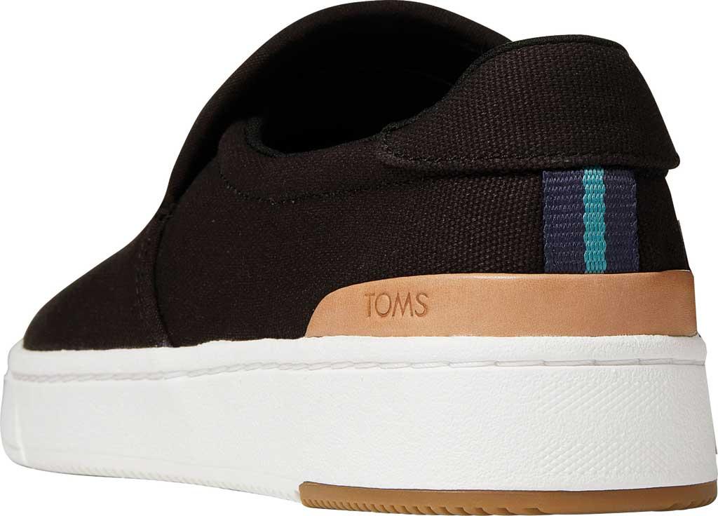 Men's TOMS TRVL LITE 2.0 Slip On Sneaker, Black Canvas, large, image 3