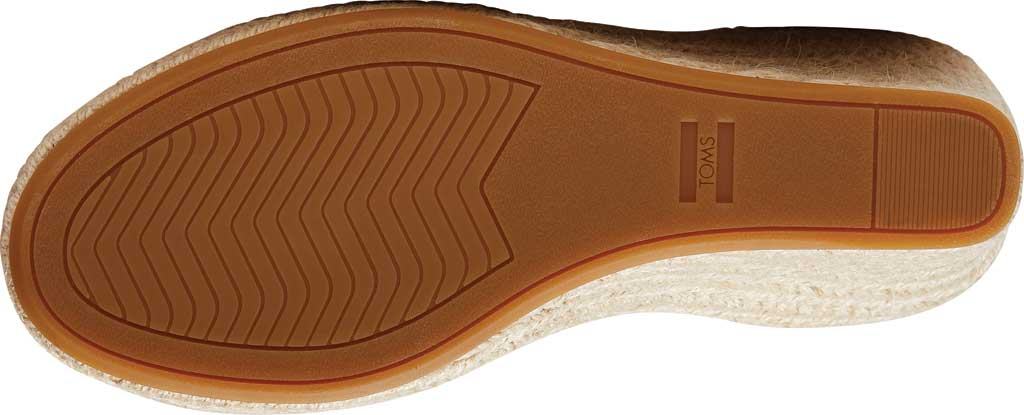 Women's TOMS Marisol Wedge Ankle Strap Sandal, Natural Oxford Leather, large, image 4