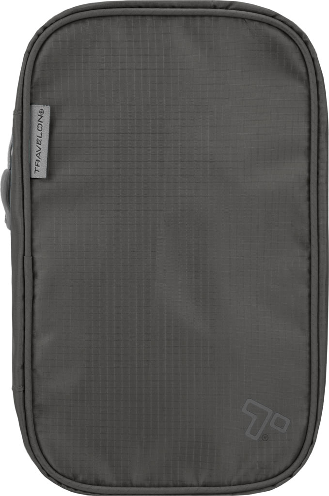 Travelon Compact Hanging Toiletry Kit, Charcoal, large, image 1