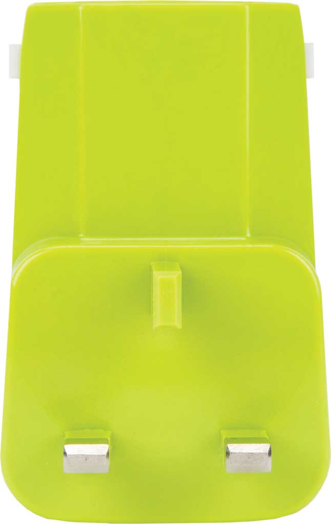 Travelon Universal 3-In-1 Converter,Adapter,and USB, Lime, large, image 5