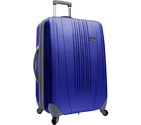 """Traveler's Choice Toronto 21"""" Expandable Hardside Spinner Luggage, Navy, large, image 1"""