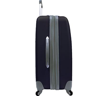 """Traveler's Choice Toronto 25"""" Expandable Hardside Spinner Luggage, Black, large, image 1"""