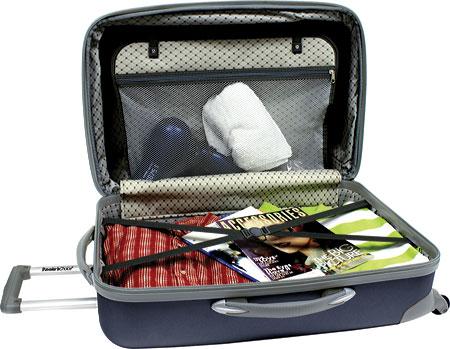 """Traveler's Choice Toronto 25"""" Expandable Hardside Spinner Luggage, Black, large, image 2"""