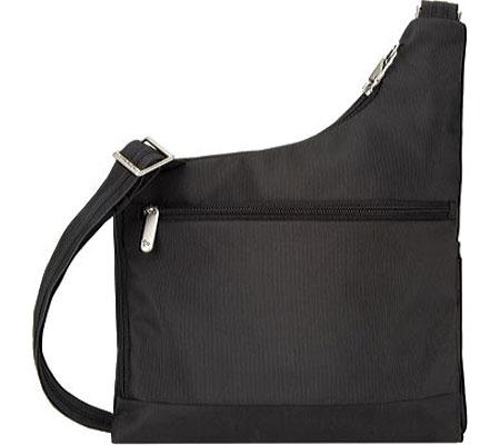 Women's Travelon Anti-Theft Cross-Body Bag, Black, large, image 2