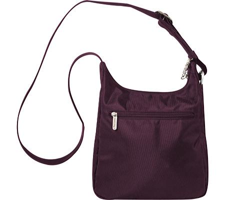 Travelon Anti-Theft Essential Messenger Bag, Purple, large, image 2
