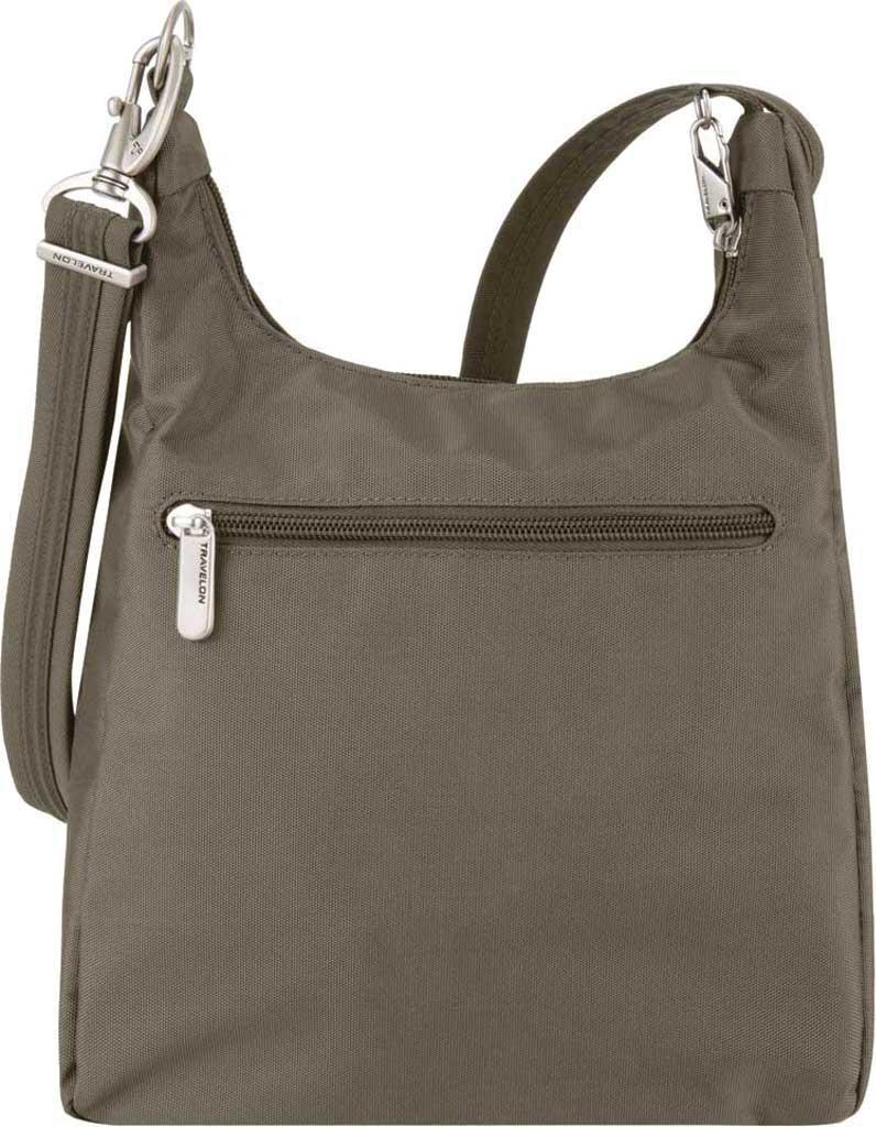Travelon Anti-Theft Essential Messenger Bag, Nutmeg, large, image 2