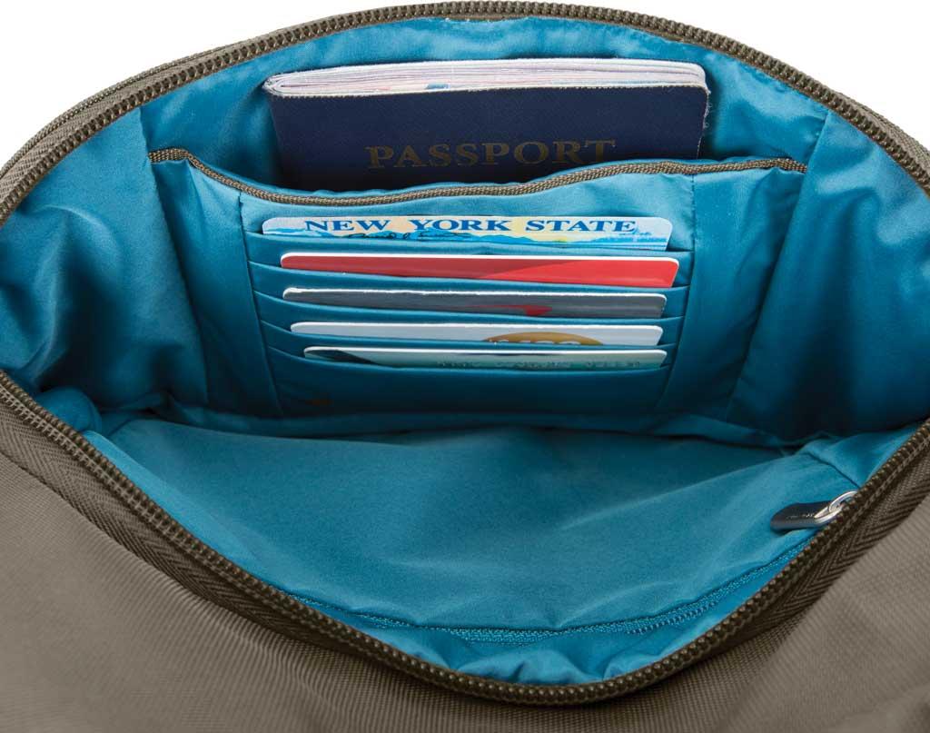 Travelon Anti-Theft Essential Messenger Bag, Nutmeg, large, image 4