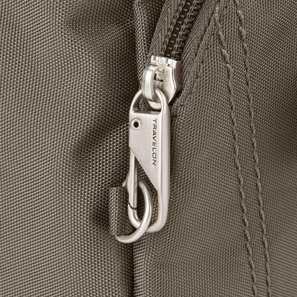 Travelon Anti-Theft Essential Messenger Bag, Nutmeg, large, image 5