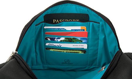 Travelon Anti-Theft Essential Messenger Bag, Purple, large, image 3