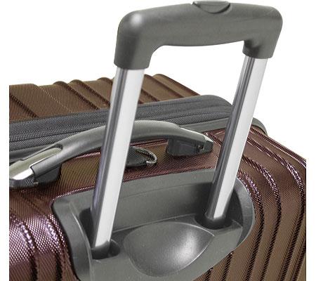 """Traveler's Choice Tasmania 21"""" Expandable Spinner Luggage, Navy, large, image 5"""