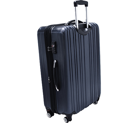 """Traveler's Choice Tasmania 21"""" Expandable Spinner Luggage, Navy, large, image 2"""