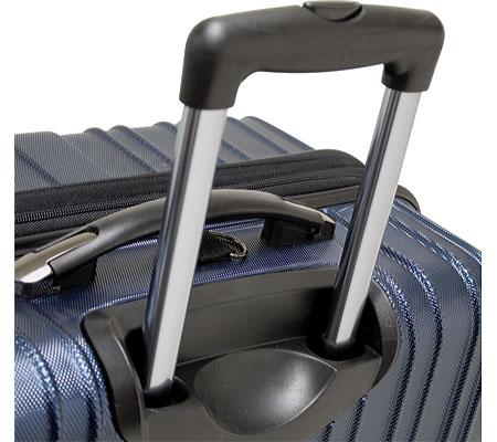 """Traveler's Choice Tasmania 21"""" Expandable Spinner Luggage, Navy, large, image 4"""